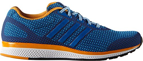 Adidas Performance Men's Mana Bounce Running Shoe,Equipment Blue/White/Shock Blue,9.5 M US