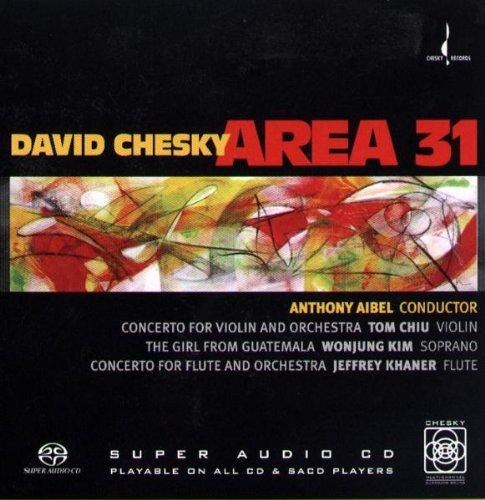 David Chesky: Area 31 [Hybrid SACD]