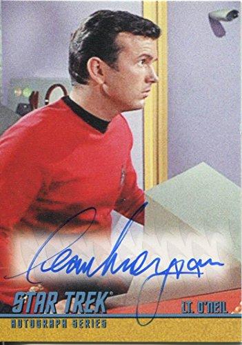 Star Trek portafoglio Prints-Stampa autografata A259-Cover adesiva Morgan come Lt. O'Neil