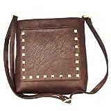 Madame Exclusive Brown Sling Bag