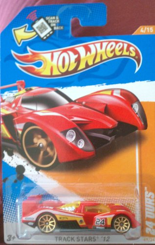 Hot Wheels 2012 Track Stars '12 4/15 24 Ours 69/247 (Red)