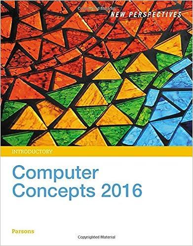 Computer Concepts 2016