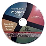 Windows Vista Re-Install, Reinstallation, Repair, Recovery For All 32 Bit, 64 Bit PCs including HP, Lenovo, Dell, Toshiba, Sony, Asus, Acer, Compaq, Samsung