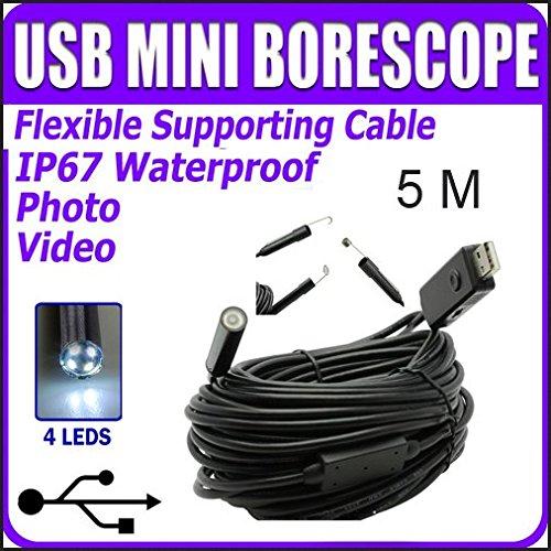 Yumqua-20MP-HD-720P-Coms-6-LEDs-PC-USB-Endoscope-85mm-Dia-Mini-Waterproof-Borescope-Snake-Inspection-Camera-Pipe-Locator-With-5M-Cable