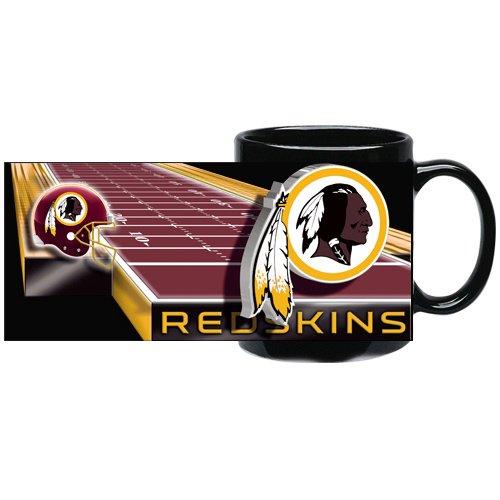 Washington Redskins 11 Ounce Sublimated Coffee Mug (Black)