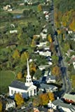 Aerial View of Stowe Vermont Journal: 150 page lined notebook/diary