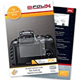 AtFoliX FX-Antireflex screen-protector for Fujifilm FinePix HS30EXR (3 pack) - Anti-reflective screen protection!
