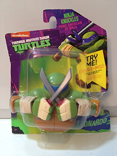 Nickelodeon Teenage Mutant Ninja Turtles Ninja Knuckles - Leonardo - 1