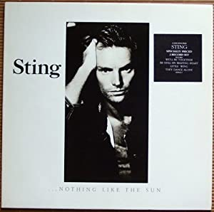 ..NOTHING LIKE THE SUN VINYL DBLE 1987[AMA6402] STING