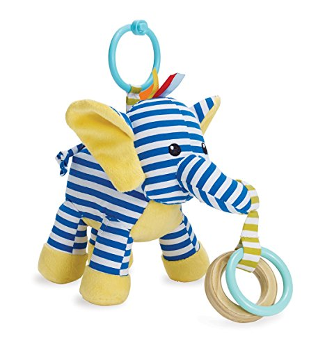 Manhattan Toy Savanna Elephant Activity Rattle & Teether