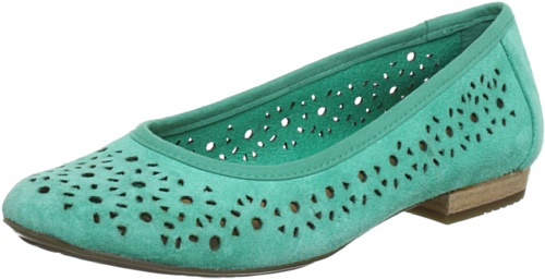 Clarks Henderson Band Closed Womens Green Grün (Mint Suede) Size: 4.5 (37.5 EU)