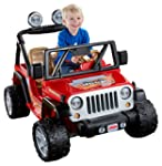 Power Wheels Jeep Wrangler - Lava Red...