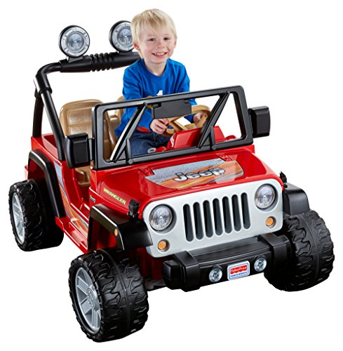 Find Bargain Fisher-Price Power Wheels Jeep Wrangler