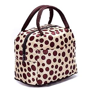 Flower Fold Shape Canvas Flower Casbah Lovely Shopper Top Handle Handbags with Zipper Pocket