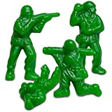 Albanese World's Best Green Apple Green Gummi Army Guys in Bulk Standup Pouch (1 Pound)