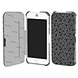 MSY GRAPHT Keith Haring Collection Flip Cover for iPhone 6 People/Black×White APA11-003PBK