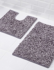 Feather Loop Bath & Pedestal Mats