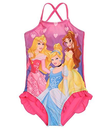 Disney Princess Ragazze Costume da bagno - fucsia - 104