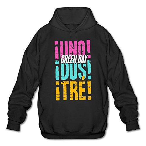 PHOEB Mens Sportswear Drawstring Hooded Sweatshirt,American Singer Writer Black Medium