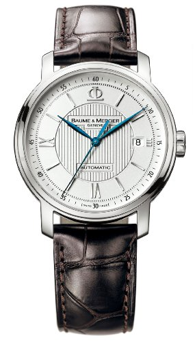 Baume &#038; Mercier Men&#8217;s 8791 Classima Automatic Leather Strap Watch