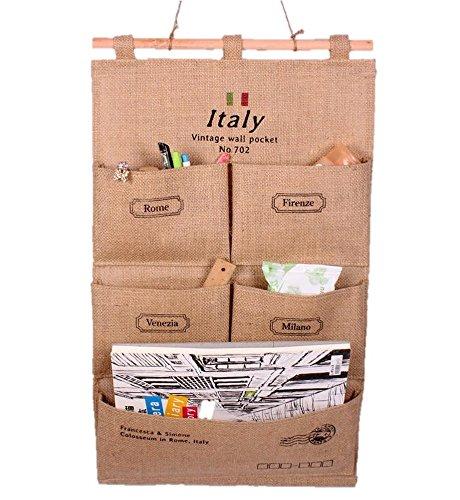 (クレスティー)CRESTY 選べる柄 ウォールポケット 壁掛け 収納 インテリア (ITALY)
