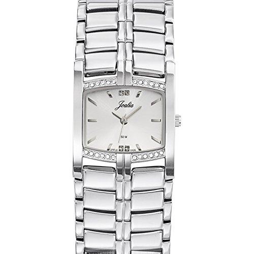 Joalia 633328 - Orologio da polso donna, metallo, colore: argento