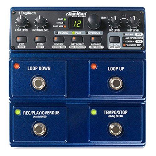 DigiTech JamMan Stereo JML2 Looper, blau
