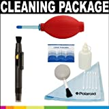 Polaroid Premium Package: Polaroid 5 Piece Camera/Camcorder Deluxe Cleaning Kit + Polaroid Super Blower With Hi Perfomance Silicon Squeeze Bulb + Polaroid Lens Cleaning Pen For The Pentax Q, K-01, K-X, K-7, K-5, K-R, 645D, K20D, K200D, K2000, K10D, K2000