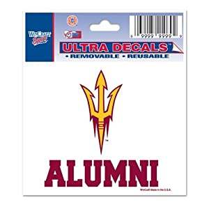 Buy Arizona State Sun Devils Official NCAA 3x4 Car Window Cling Decal by Wincraft by WinCraft