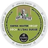 Van Houtte Cafe Swiss Water Decaf, Fair Trade & Organic Light Roast Coffee for Keurig Brewers, 24-Count K-Cups (Pack of 2)