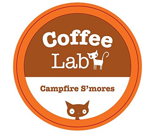 Coffee Lab - Flavored K Cup Coffee - Campfire S'mores (White Mocha Keurig Cups compare prices)