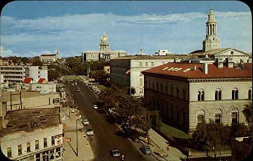 Vista Of Colfax Avenue Denver, Co Original Vintage Postcard