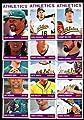2013 Oakland Athletics Topps Heritage Baseball Complete Mint 15 Basic Card Team Set