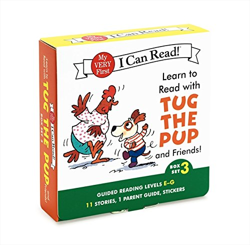 Learn to Read with Tug the Pup and Friends! Box Set 3: Levels Included: E-G (My Very First I Can Read!)