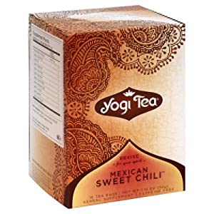Amazon Com Yogi Aztec Sweet Chili Tea 16 Count Tea Bags