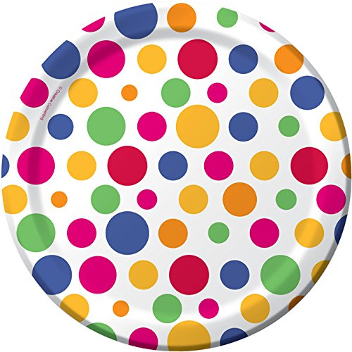 Party Dots Dessert Plates 8ct