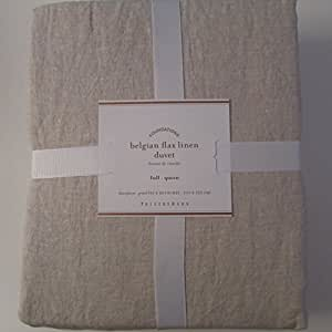 Amazon Com Pottery Barn Belgian Linen Flax Duvet Cover