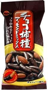 ブルボン チョコ柿種アーモンドミックス 48g×10個