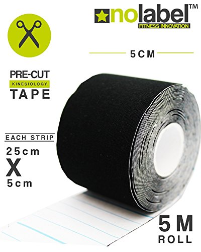 black-kinesiology-tape-pre-cut-4-colours-5m-sports-tape-for-knee-shoulder-elbow-ankle-back-neck-wate