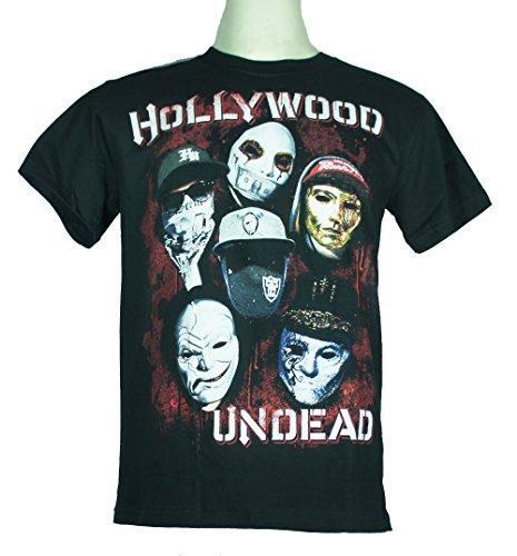 Hollywood Undead americane (Tragedia) Large Size L Nuovo. Maglietta 1307