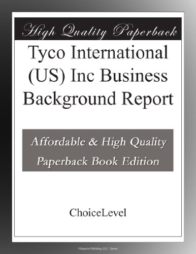 tyco-international-us-inc-business-background-report