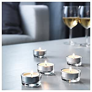 ikea glimma 72 tealight holders. Black Bedroom Furniture Sets. Home Design Ideas