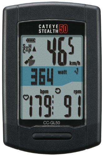 自転車の 自転車 バックライト : GPS Cat Eye Stealth 50 Computer