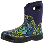 Bogs Women's Classic Mid Vintage Waterproof Boot - Navy Multi