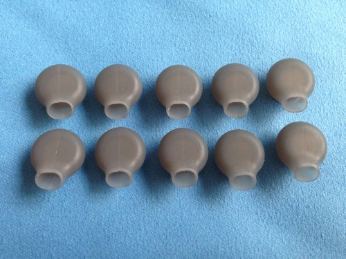 10Pcs New Large Size (L) Earbuds For Plantronics Backbeat 906 903 903+ Back Beat Stereo Wireless Bluetooth Headset Ear Gel Bud Tip Gels Buds Tips Eargel Earbud Eartip Eargels Eartips Replacement Part Parts