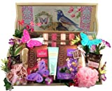 Gift Basket Village a Day at The Spa, Deluxe Gift with Vanity Tray, 8 Pound