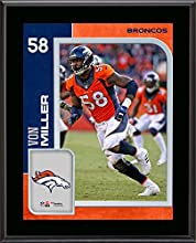 Von Miller Denver Broncos 10.5'' x 13'' Sublimated Player Plaque - Fanatics Authentic Certified - NFL Player Plaques and Collages