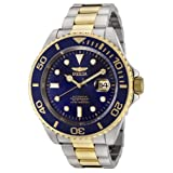 Invicta Men's F0067 Pro Diver Collection Automatic 18k Gold-Plated and Stainless Steel Watch