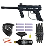 Tippmann 98 Custom Platinum Basic Series 3Skull Paintball Gun Marker MEGA Set ~ A.C. Kerman - Paintball