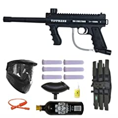 Buy Tippmann 98 Custom Platinum Basic Series 3Skull Paintball Gun Marker MEGA Set by A.C. Kerman - Paintball